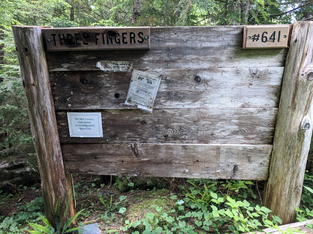 Three Fingers trail info