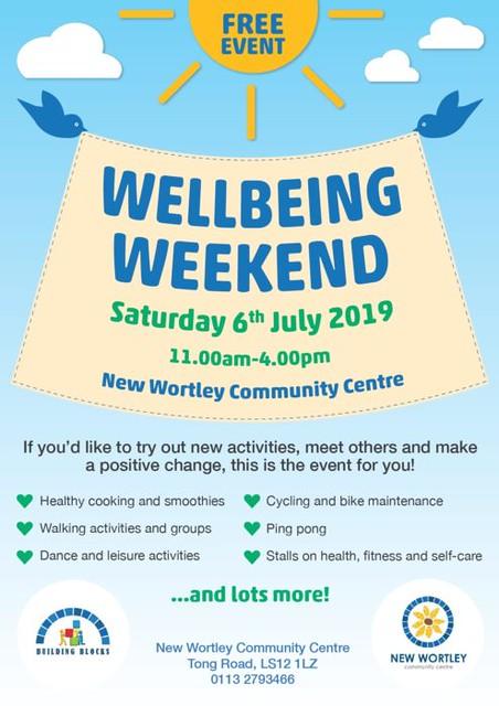 new wortley wellbeing weekend