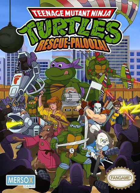 십대 돌연변이 닌자 거북 구조 팔루자 포스터