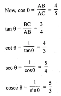 ML Aggarwal Class 10 Solutions for ICSE Maths Chapter 18 Trigonometric Identities Ex 18 Q1.1