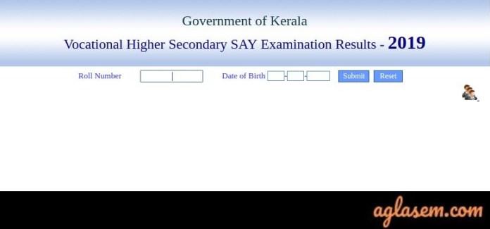 Kerala Plus Two Say/ Improvement Result 2019