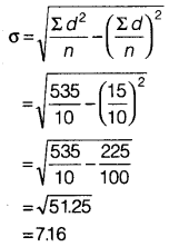 Statistics for Economics Class 11 NCERT Solutions Chapter 6 Measures of Dispersion 13