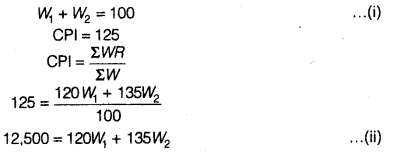 Statistics for Economics Class 11 NCERT Solutions Chapter 8 Index Numbers 5