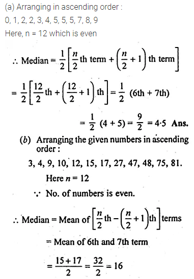 ML Aggarwal Class 10 Solutions for ICSE Maths Chapter 21 Measures of Central Tendency Ex 21.2 Q2