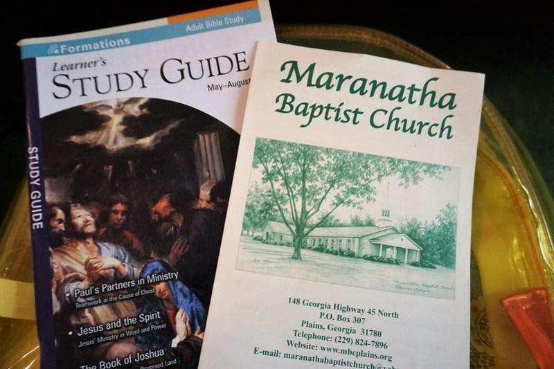 Sunday School with Former President Jimmy Carter, Maranatha Baptist Church, Plains, Ga., June 23, 2019