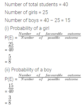 ML Aggarwal Maths for Class 10 Solutions Pdf Download Chapter 22 Probability Ex 22 Q8