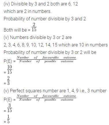 ML Aggarwal Maths for Class 10 ICSE Solutions Pdf Download Chapter 22 Probability Ex 22 Q26.1