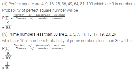 ML Aggarwal Class 10 Solutions for ICSE Maths Chapter 22 Probability Ex 22 Q31.1