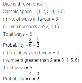 ML Aggarwal Class 10 Solutions for ICSE Maths Chapter 22 Probability Ex 22 Q16