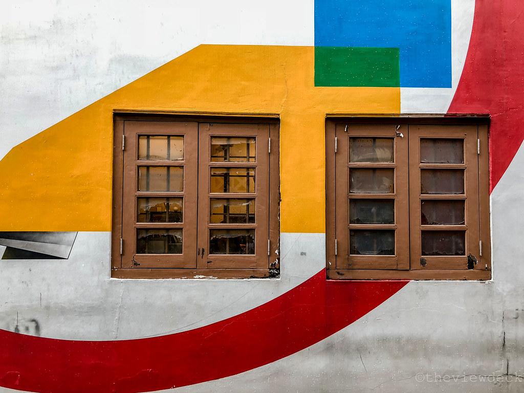 Murals in Little India