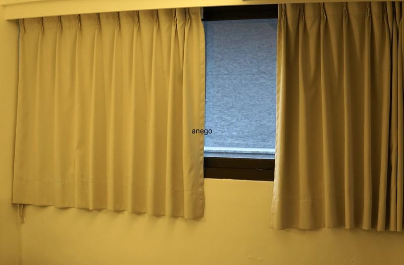 山水閣 窓の外
