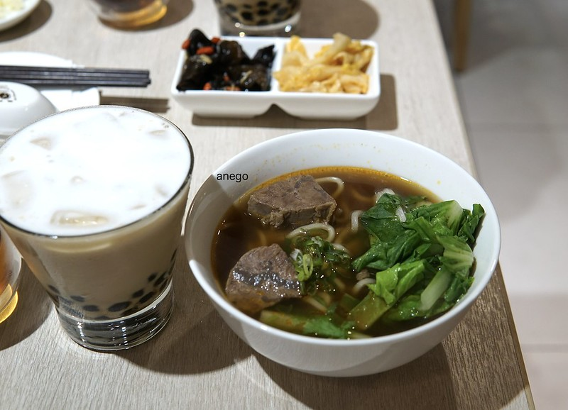 金品茶語 牛肉麺と