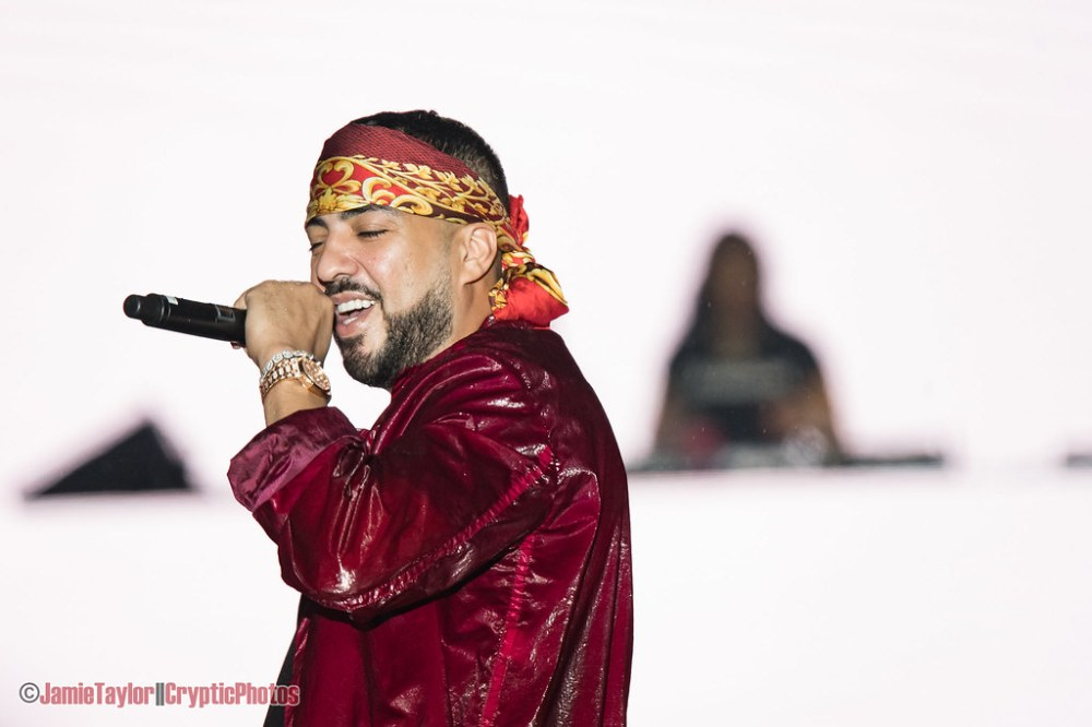 Moroccan-American hip-hop star French Montana performing at Fvded In The Park in Holland Park in Surrey, BC on July 6th 2019