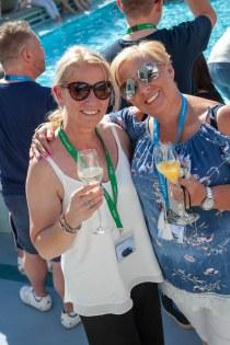 Saga Spirit of Discovery VIP Trade Event 2-4 July 2019 - Marie Leach, Althams, Liz Ryan, Saga