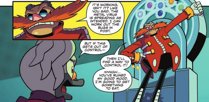 IDW Sonic the Hedgehog issue 18 Preview 2