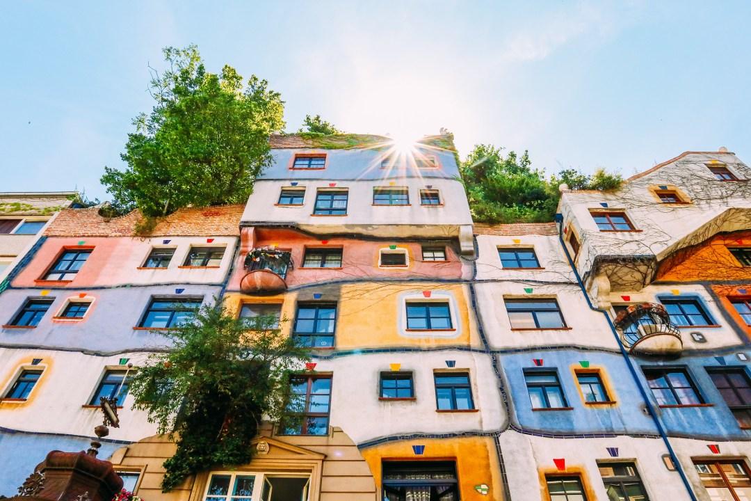 Hundertwasserhaus. Vienna
