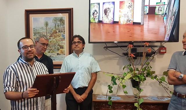 Felipe Juan y Antonio Cerpa exponen en Arucas