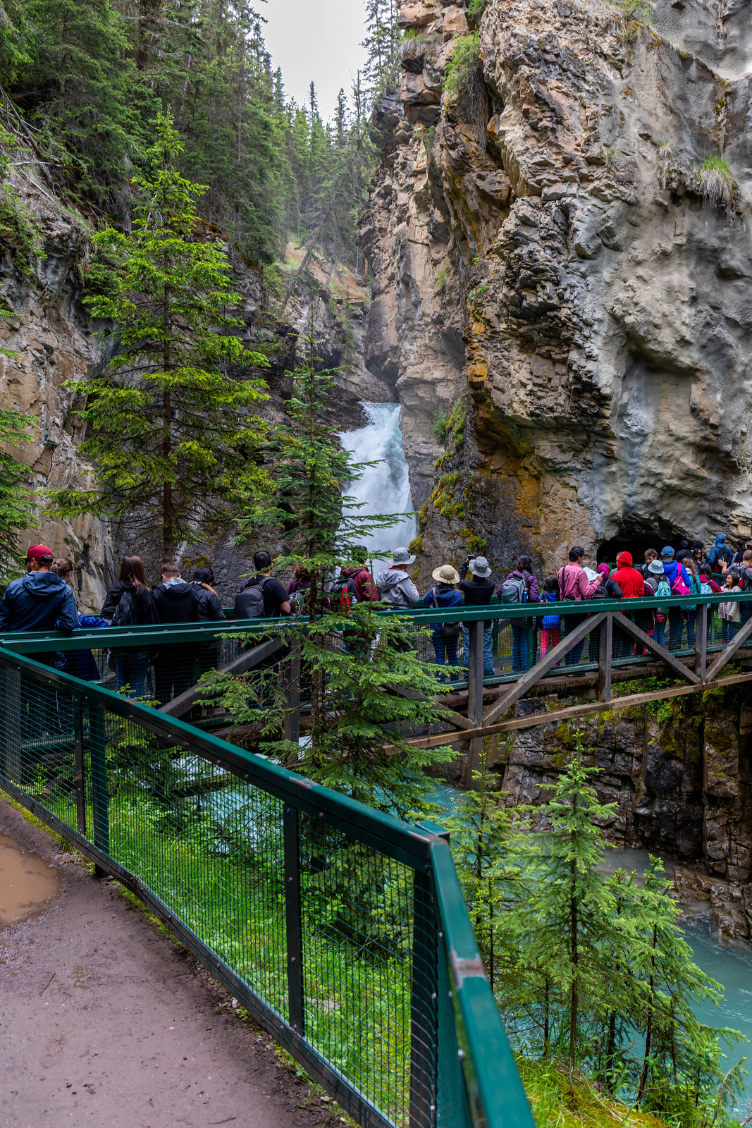 06.29. Johnston Canyon, Banff National Park, AB, Canada