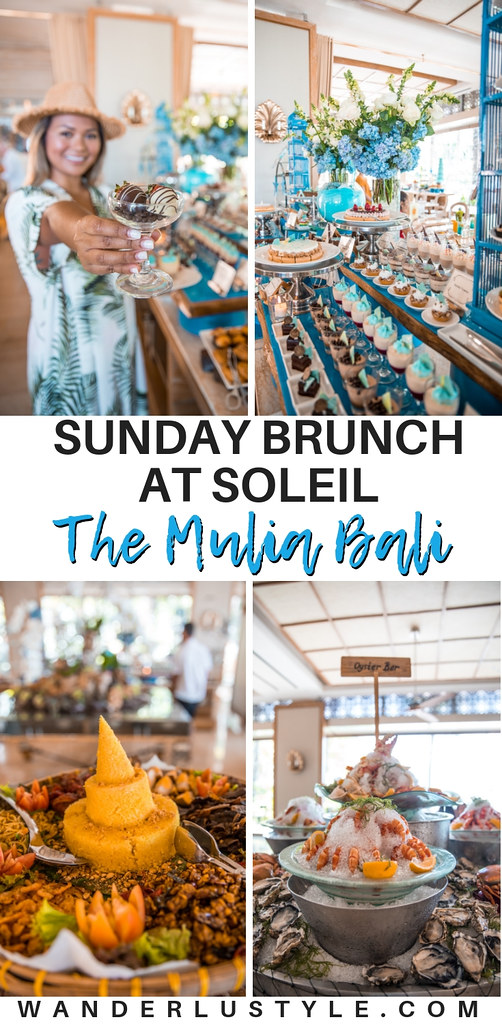 Soleil Sunday Brunch at The Mulia Bali, Bali Food, Sunday Brunch Bali, Nusa Dua, Nusa Dua Food, What to do in Bali, Where to eat in Bali