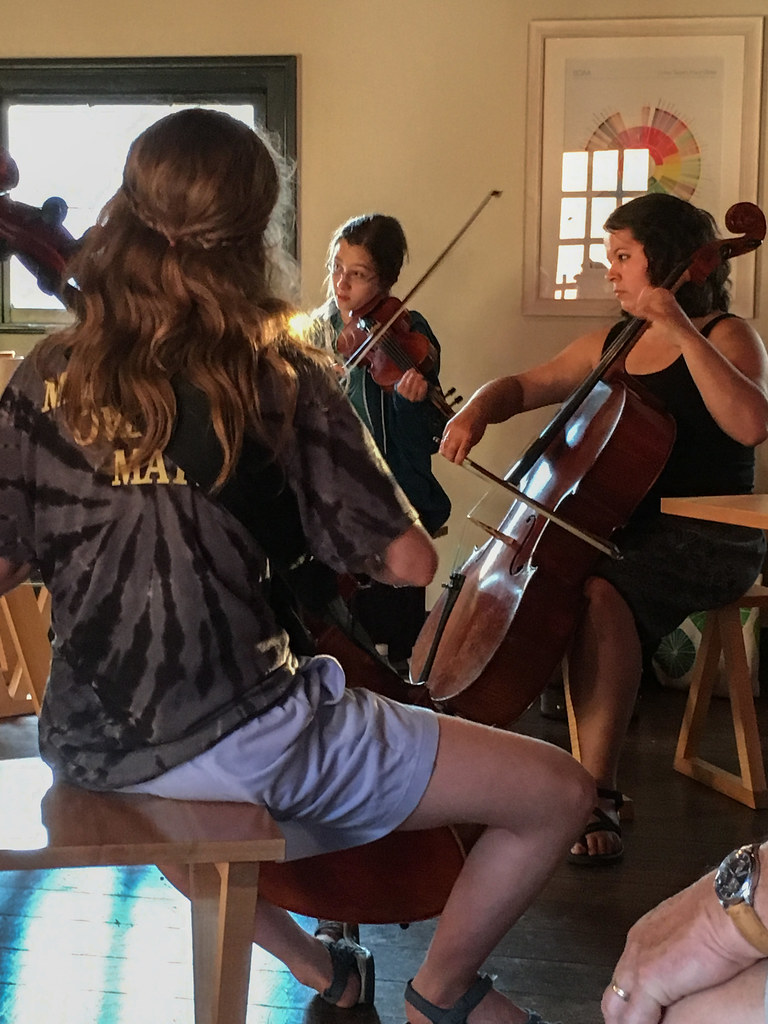 Jam session with cellos