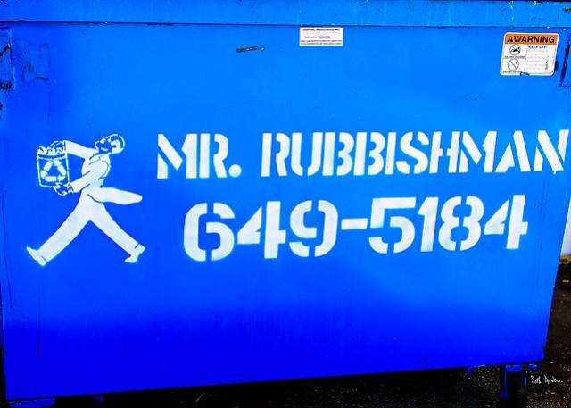 Mr Rubbishman