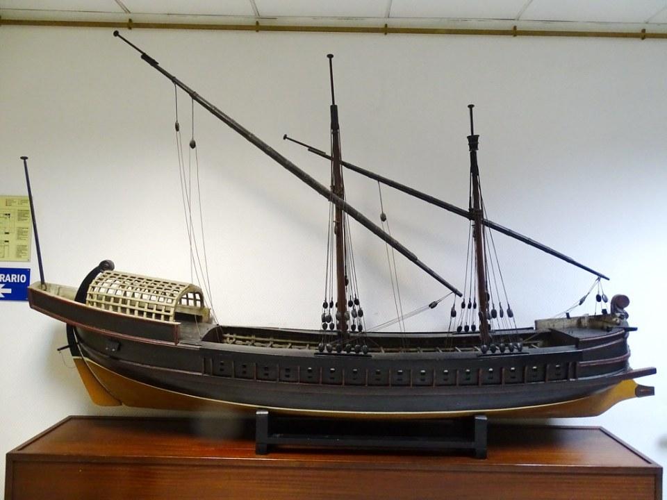 embarcacion Galera Museo Naval Madrid 01