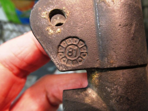 Casting Mark On Rear Master Cylinder Indicates Manufactured in February 1981