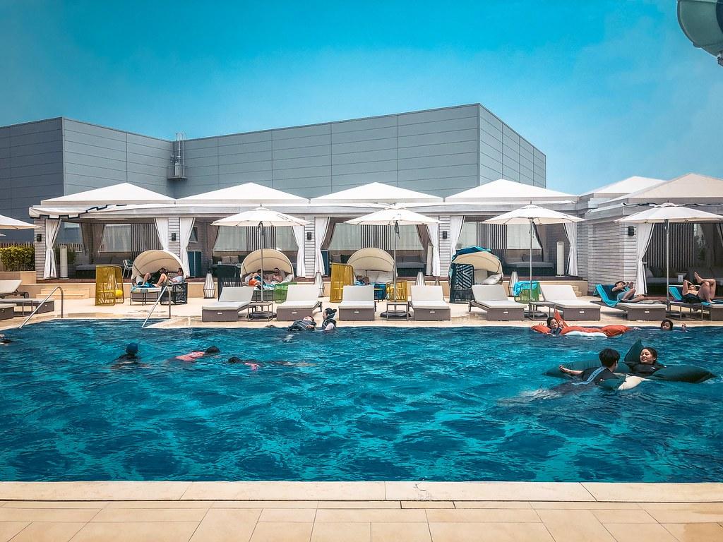 Outdoor Pool at Cimer Spa