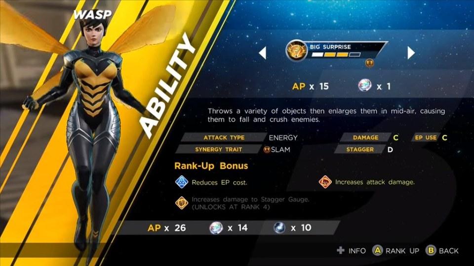 Marvel Ultimate Alliance 3 - Vosí Sexy