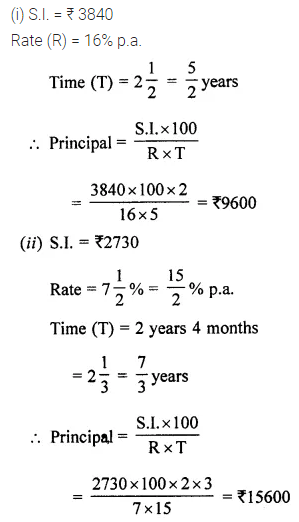 ML Aggarwal Class 7 Solutions for ICSE Maths Chapter 7 Percentage and Its Applications Ex 7.4 Q4