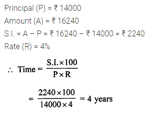 ML Aggarwal Class 7 Solutions for ICSE Maths Chapter 7 Percentage and Its Applications Ex 7.4 Q7