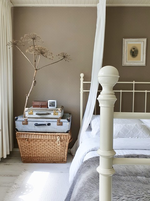 Lichte slaapkamer landelijk brocante