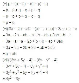 ML Aggarwal Class 7 Solutions for ICSE Maths Chapter 8 Algebraic Expressions Ex 8.2 Q3.1