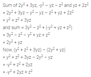 ML Aggarwal Class 7 Solutions for ICSE Maths Chapter 8 Algebraic Expressions Ex 8.2 Q14