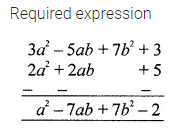 ML Aggarwal Class 7 Solutions for ICSE Maths Chapter 8 Algebraic Expressions Check Your Progress Q11