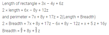 ML Aggarwal Class 7 Solutions for ICSE Maths Chapter 8 Algebraic Expressions Objective Type Questions HOTS 1