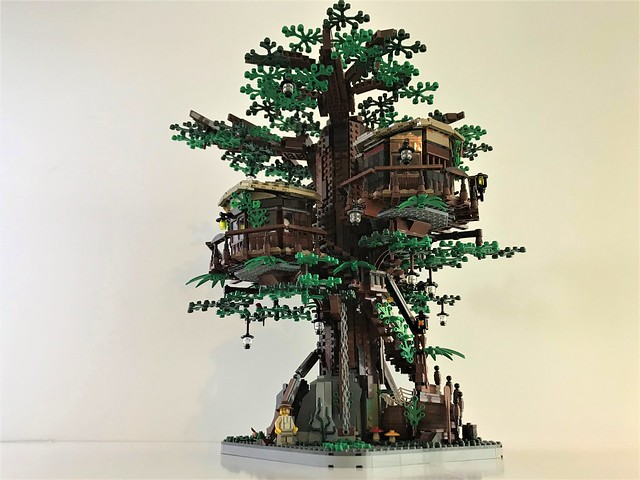 LEGO Ideas Tree House project