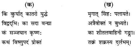 NCERT Solutions for Class 8 Sanskrit Chapter 15 प्रहेलिकाः 2