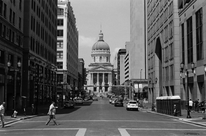 Market Street towards the Statehouse