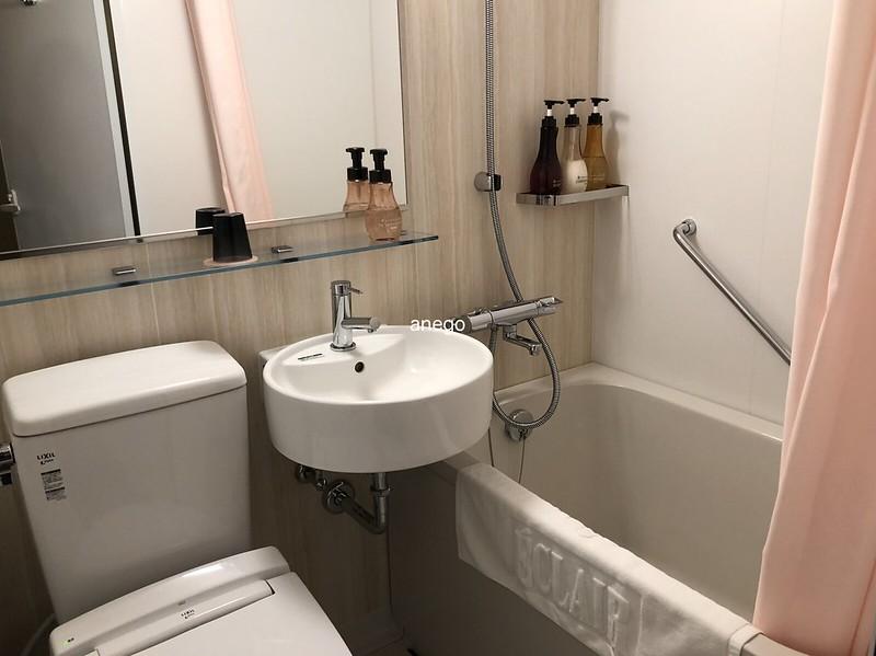 エクレール博多 バスルーム