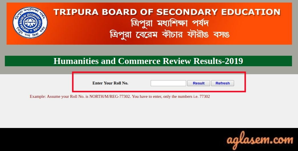 TBSE 12th Arts Result 2019