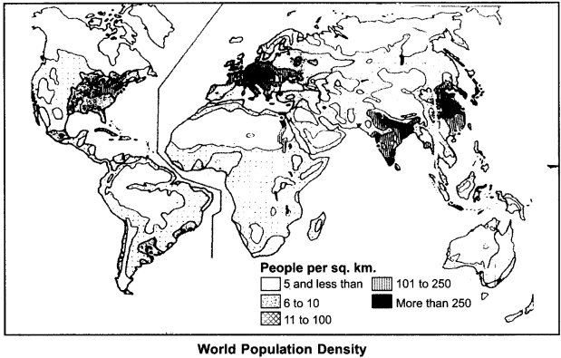 RBSE Solutions for Class 12 Geography Chapter 3 Population