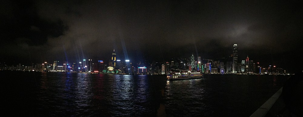 7 Nov 2015: Symphony of Lights @ Victoria Harbour | Tsim Sha Tsui, Hong Kong