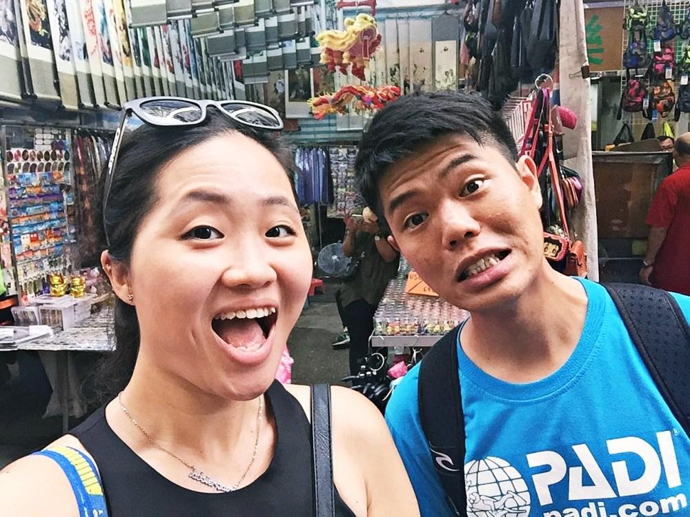 7 Nov 2015: Ladies Market | Mong Kok, Hong Kong