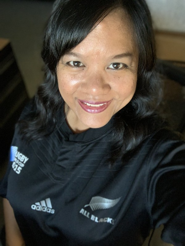in my All Blacks jersey