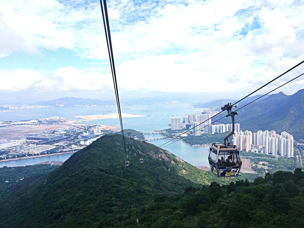 8 Nov 2015: Ngong Ping 360 Cable Car 360 | Lantau Island, Hong Kong