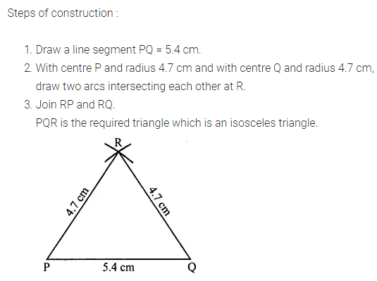 ML Aggarwal Class 7 Solutions for ICSE Maths Chapter 13 Practical Geometry Ex 13 Q5