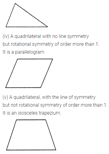 ML Aggarwal Class 7 Solutions for ICSE Maths Chapter 14 Symmetry Ex 14.2 Q5.1