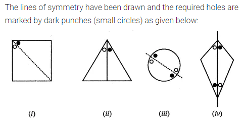 ML Aggarwal Class 7 Solutions for ICSE Maths Chapter 14 Symmetry Ex 14.1 Q3.1