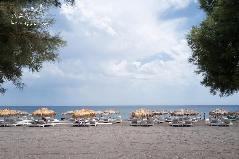BLACK BEACH,KAMARI BEACH,PERISSA BEACH,RED BEACH,佩利沙海灘,卡馬利海灘,紅沙灘,聖托里尼,聖托里尼自駕,黑沙灘 @薇樂莉 Love Viaggio | 旅行.生活.攝影